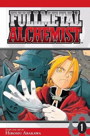 Fullmetal Alchemist Manga Rock